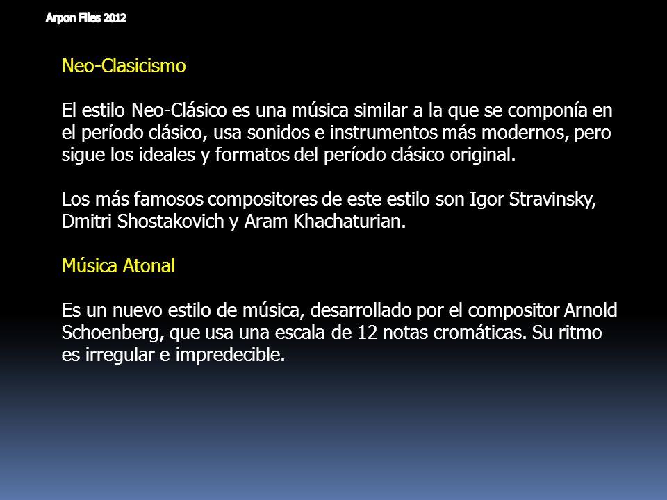 Neo-Clasicismo