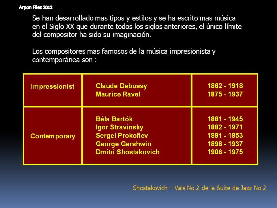 Shostakovich - Vals No.2 de la Suite de Jazz No.2