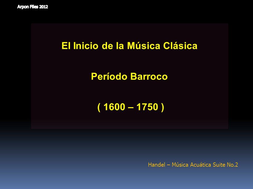 El Inicio de la Música Clásica