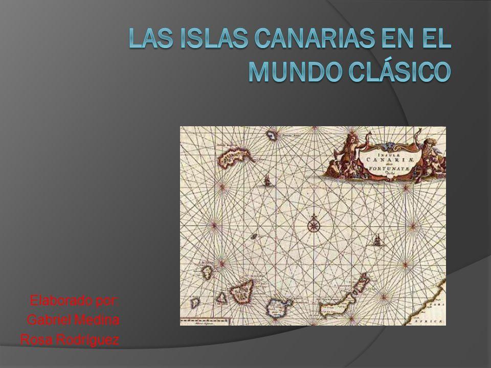 Las islas canarias en el mundo clásico