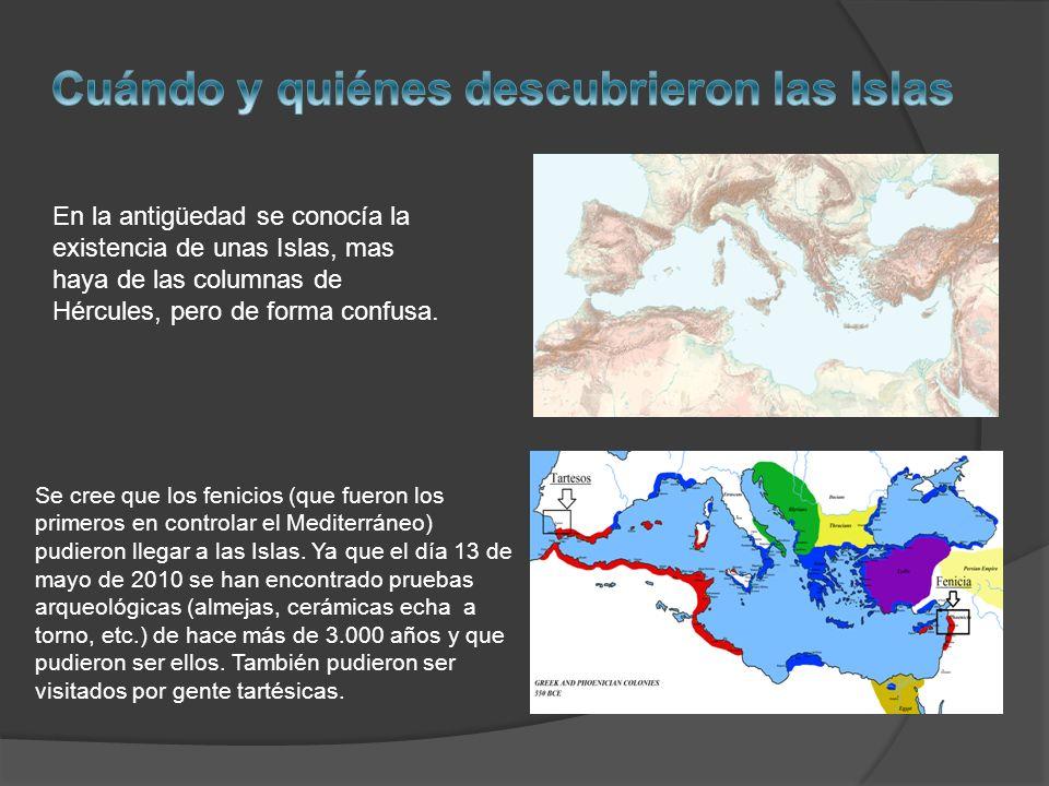 Cuándo y quiénes descubrieron las Islas