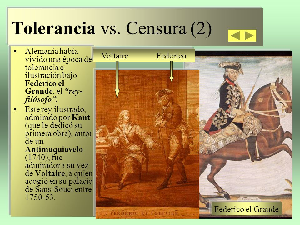 Tolerancia vs. Censura (2)
