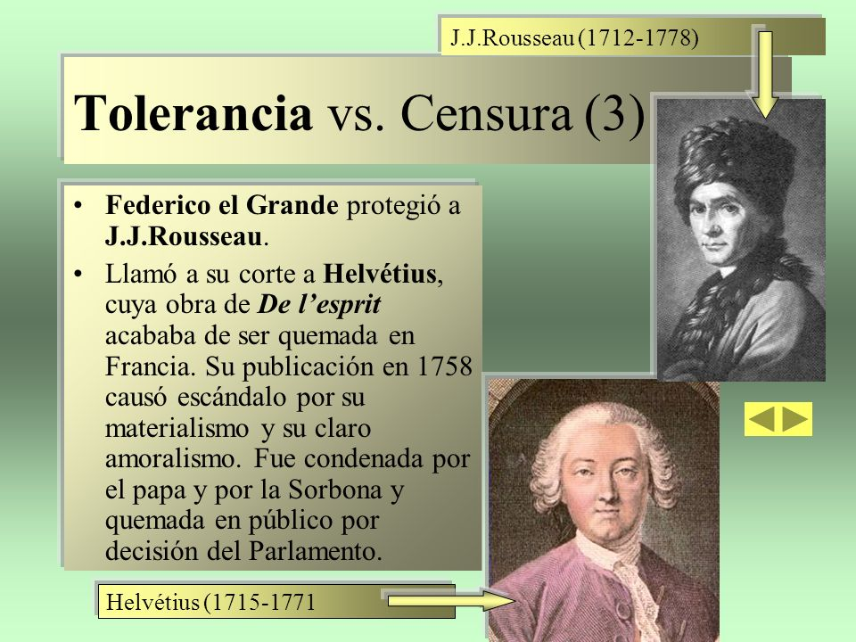 Tolerancia vs. Censura (3)