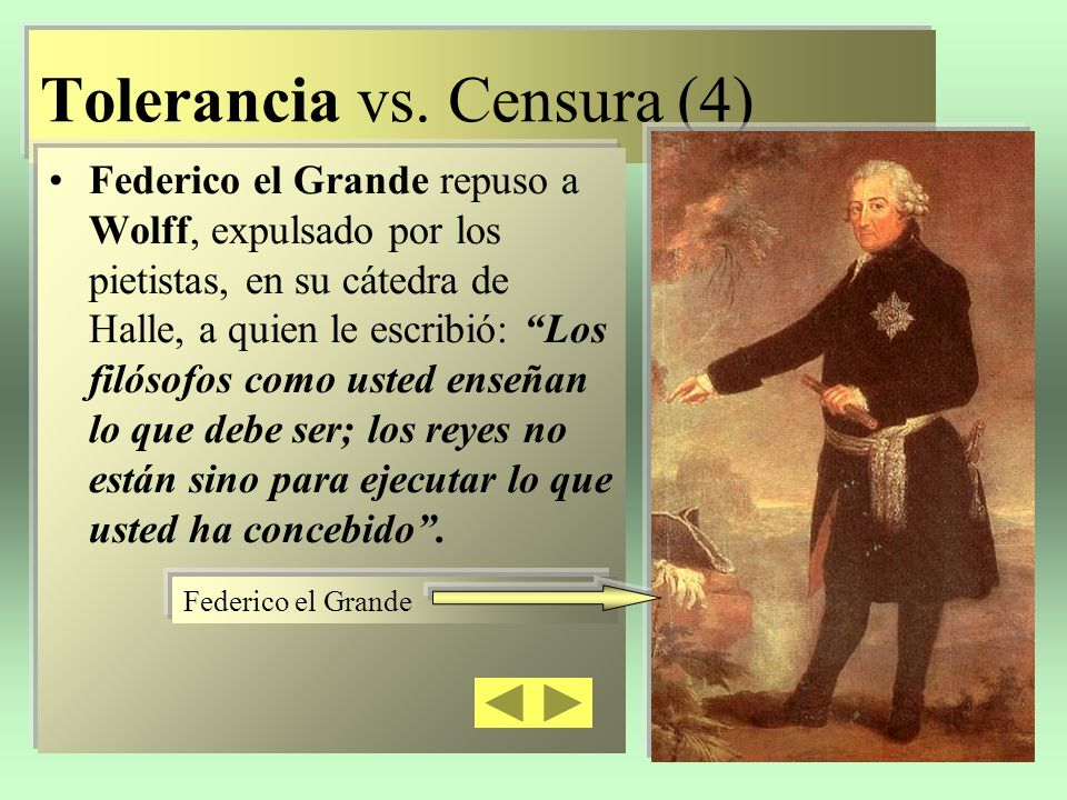 Tolerancia vs. Censura (4)