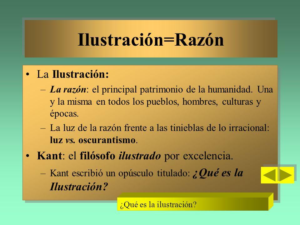 Ilustración=Razón La Ilustración: