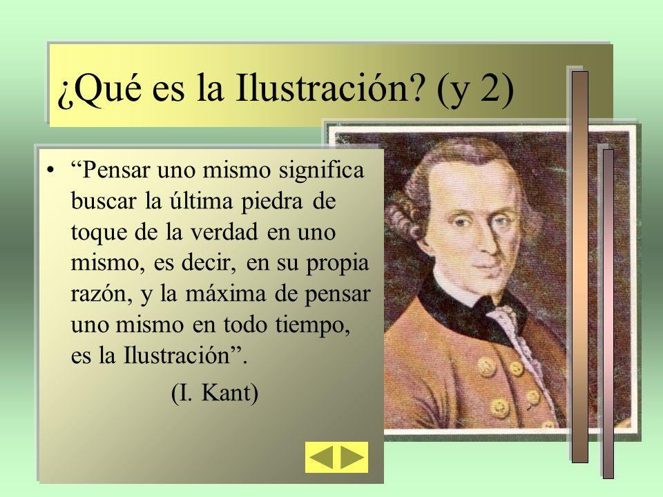 ¿Qué es la Ilustración (y 2)
