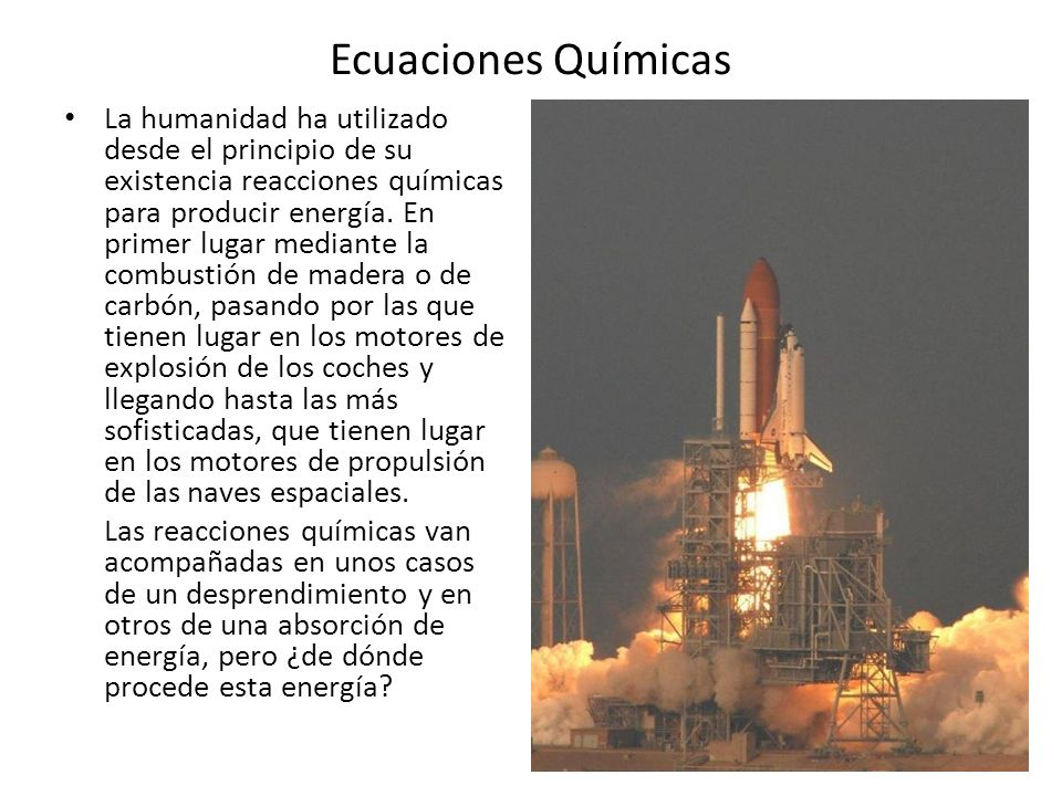 Ecuaciones Químicas