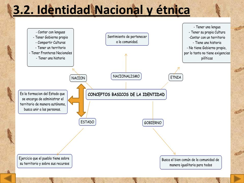 3.2. Identidad Nacional y étnica