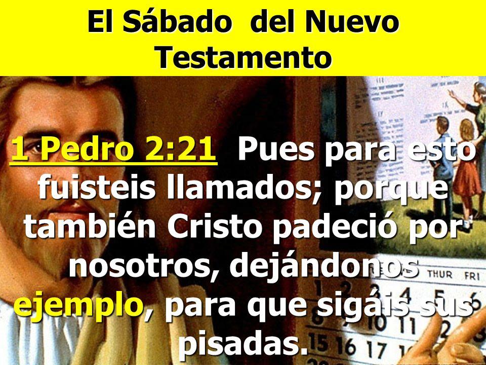 El Sábado del Nuevo Testamento