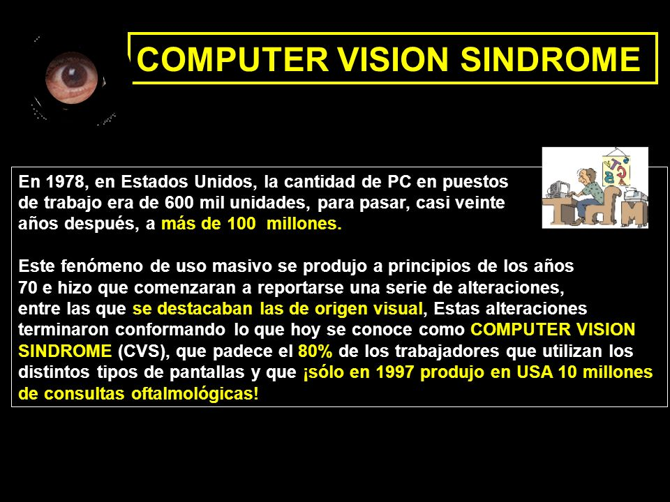 COMPUTER VISION SINDROME