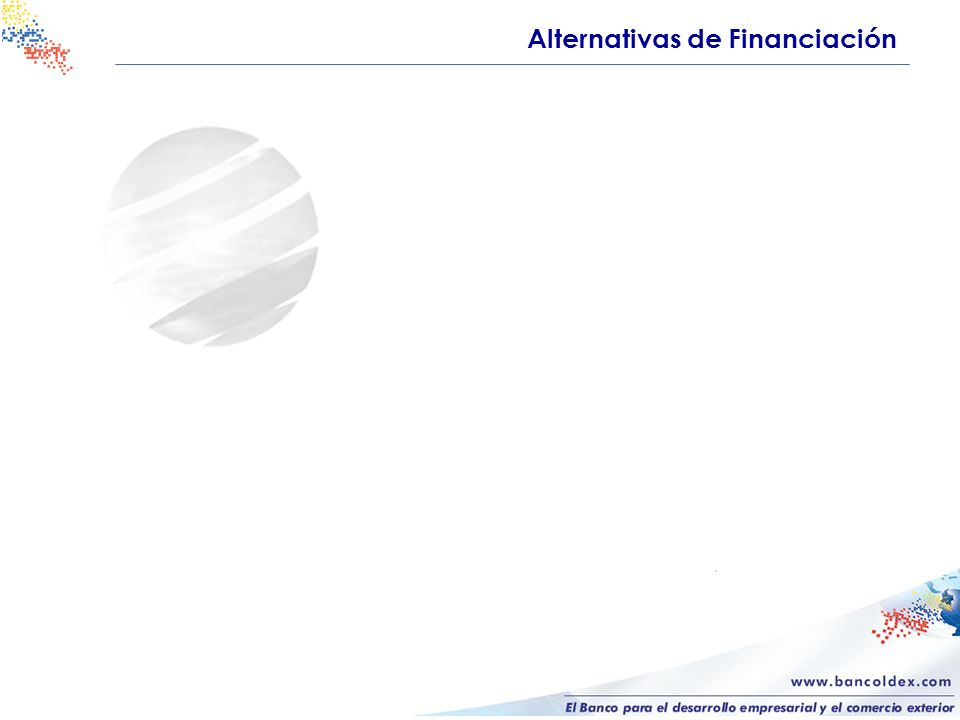 Alternativas de Financiación