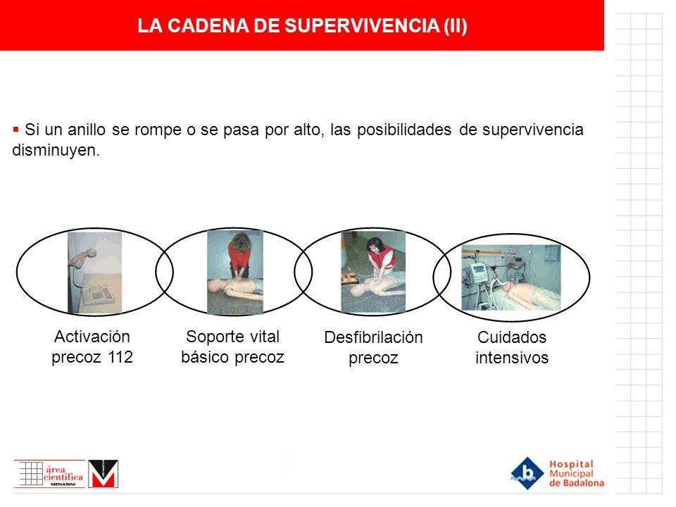 LA CADENA DE SUPERVIVENCIA (II)