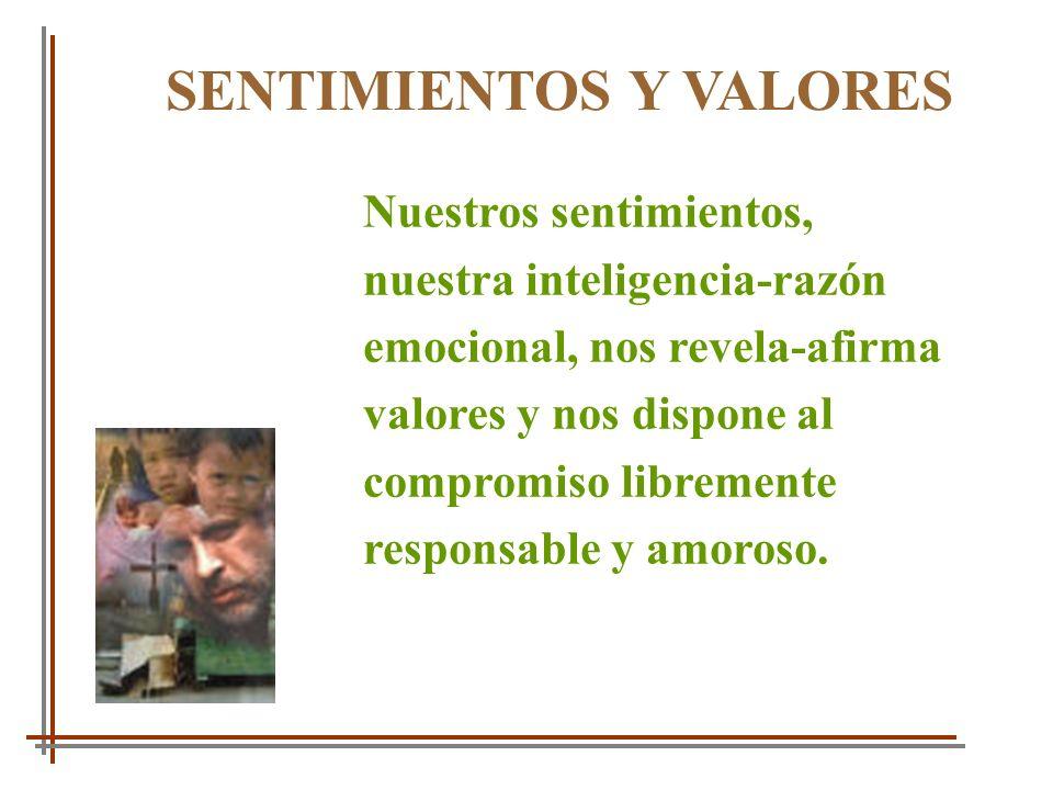 SENTIMIENTOS Y VALORES