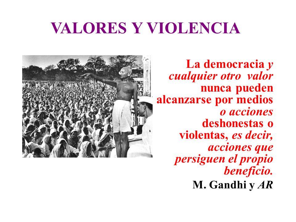 VALORES Y VIOLENCIA