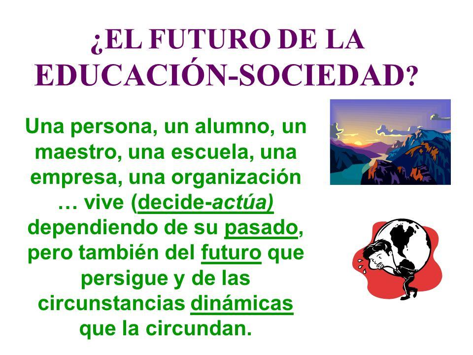 ¿EL FUTURO DE LA EDUCACIÓN-SOCIEDAD