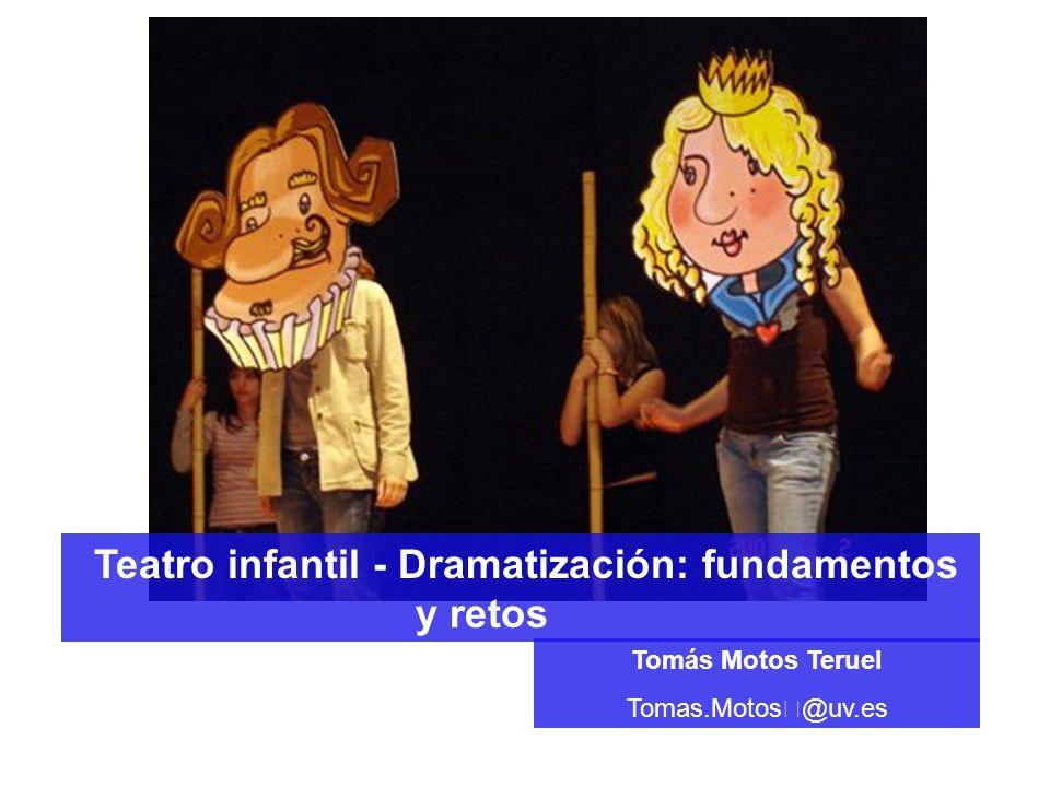 Teatro infantil - Dramatización: fundamentos y retos