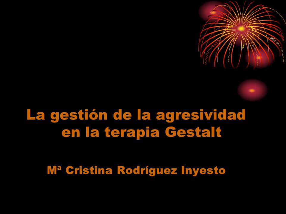 La gestión de la agresividad en la terapia Gestalt