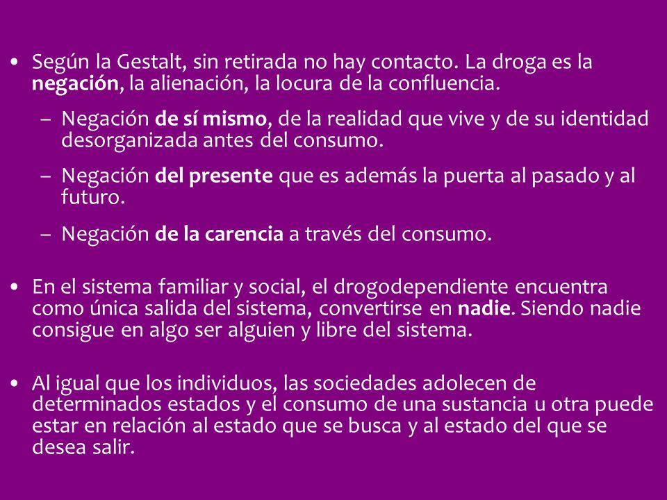 Según la Gestalt, sin retirada no hay contacto