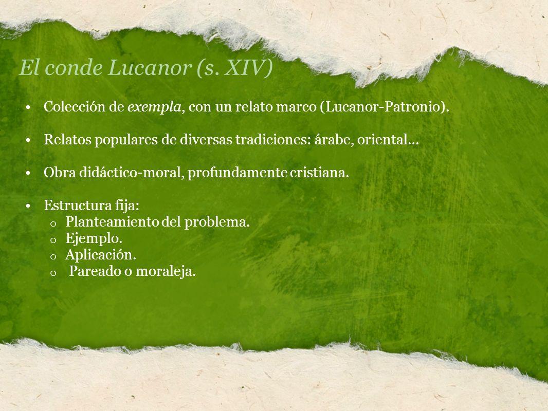El conde Lucanor (s. XIV)