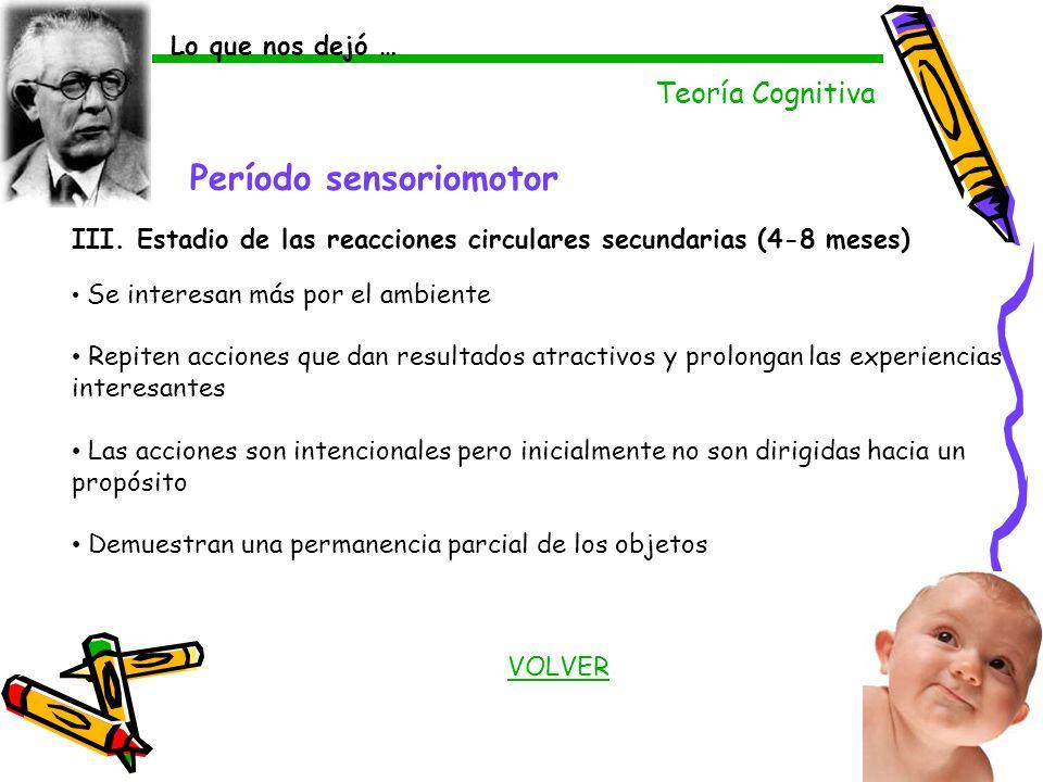 Período sensoriomotor