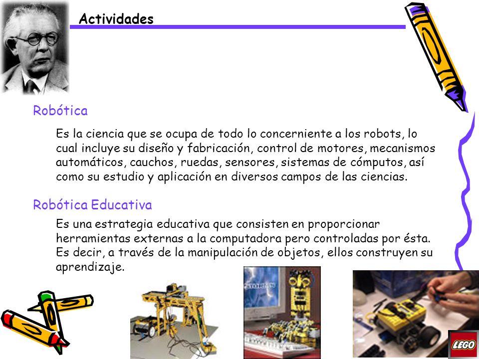 Actividades Robótica Robótica Educativa