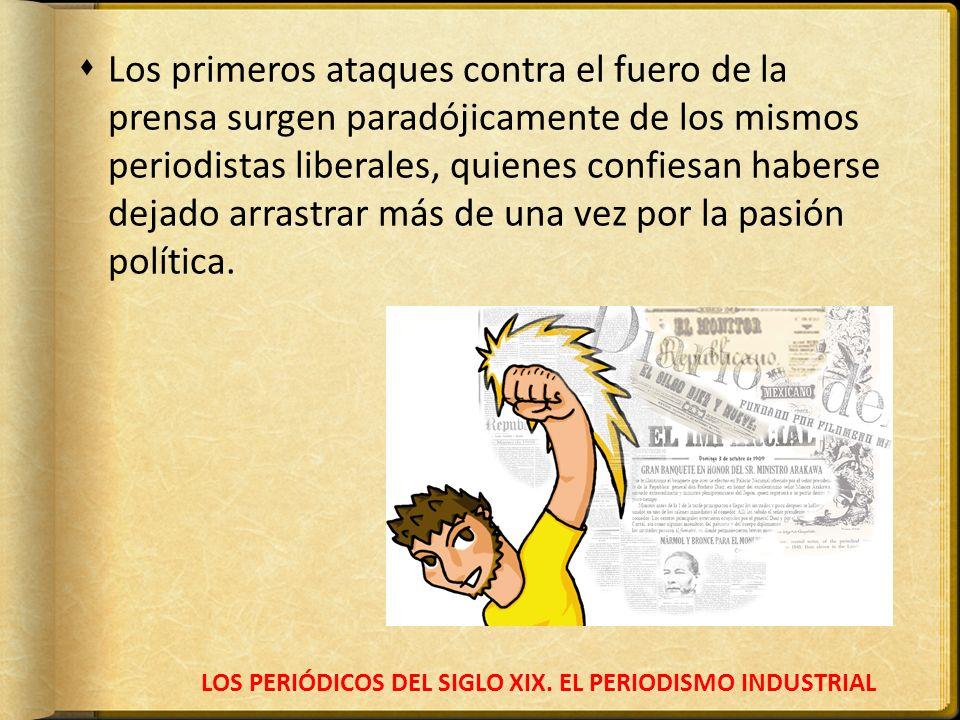 LOS PERIÓDICOS DEL SIGLO XIX. EL PERIODISMO INDUSTRIAL