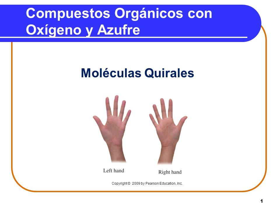 Compuestos Orgánicos con Oxígeno y Azufre