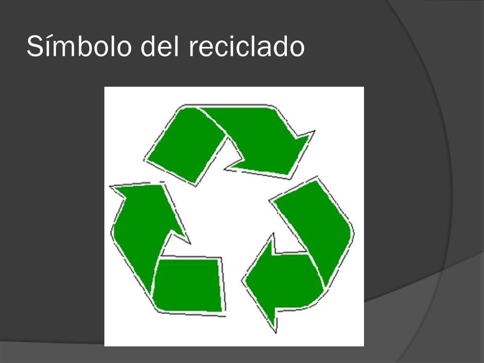 Símbolo del reciclado