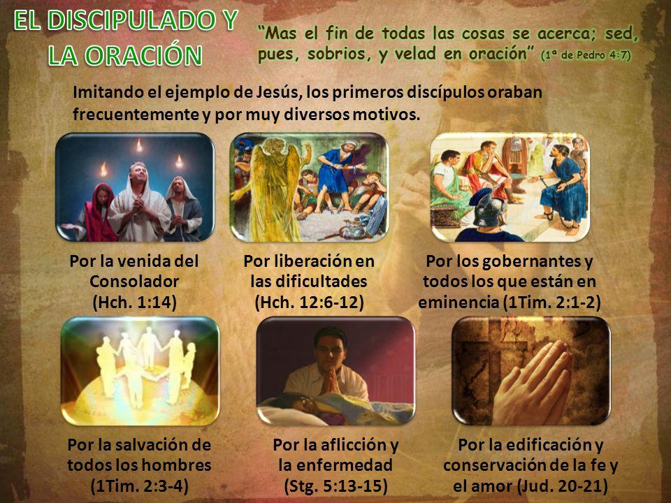 EL DISCIPULADO Y LA ORACIÓN