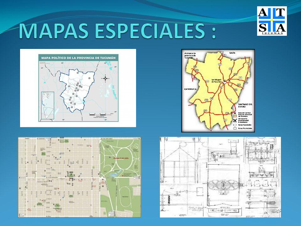 MAPAS ESPECIALES :