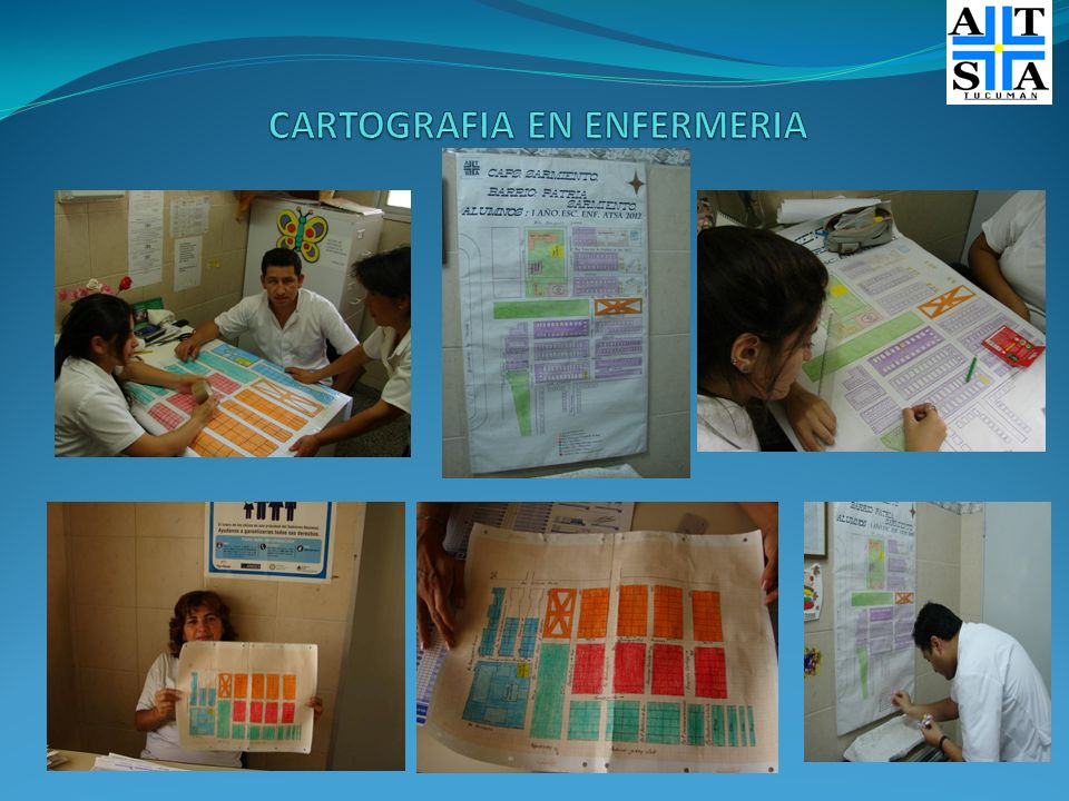 CARTOGRAFIA EN ENFERMERIA
