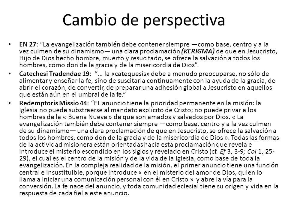 Cambio de perspectiva