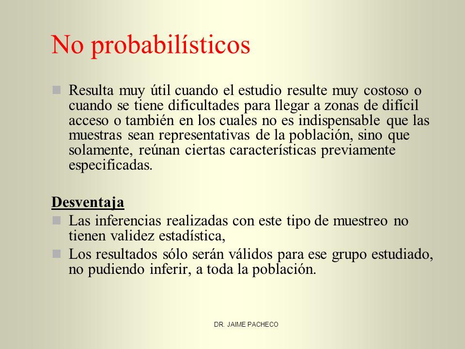 No probabilísticos