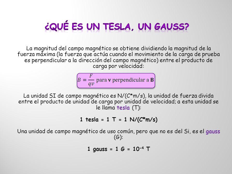 ¿Qué es un Tesla, un Gauss
