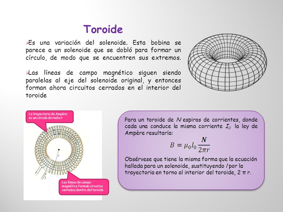 La trayectoria de Ampère es un círculo de radio r