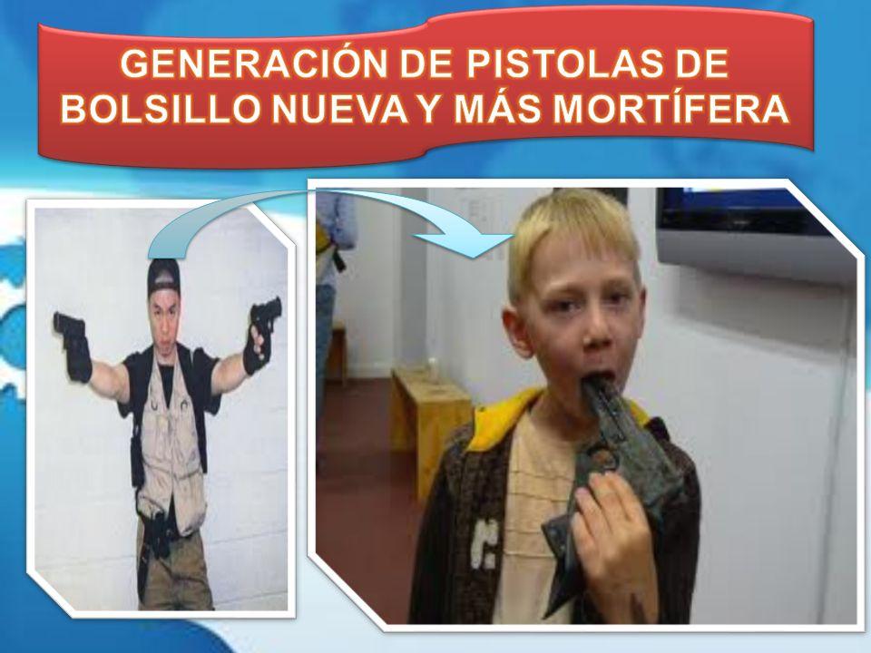 GENERACIÓN DE PISTOLAS DE BOLSILLO NUEVA Y MÁS MORTÍFERA