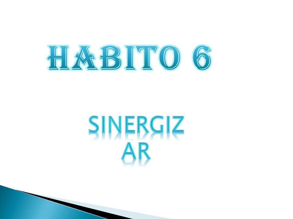 HABITO 6 Sinergizar