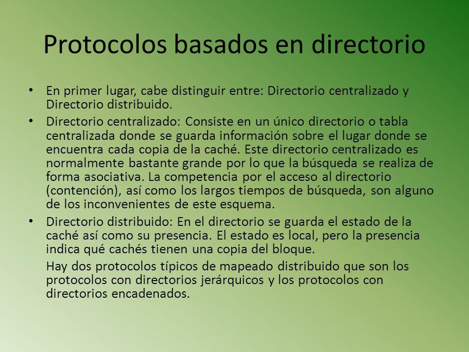 Protocolos basados en directorio