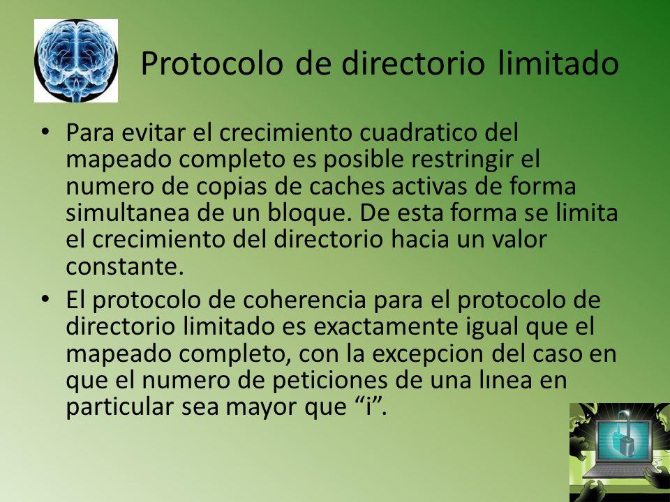 Protocolo de directorio limitado