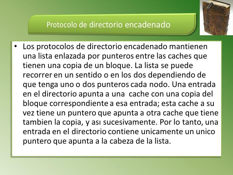 Protocolo de directorio encadenado