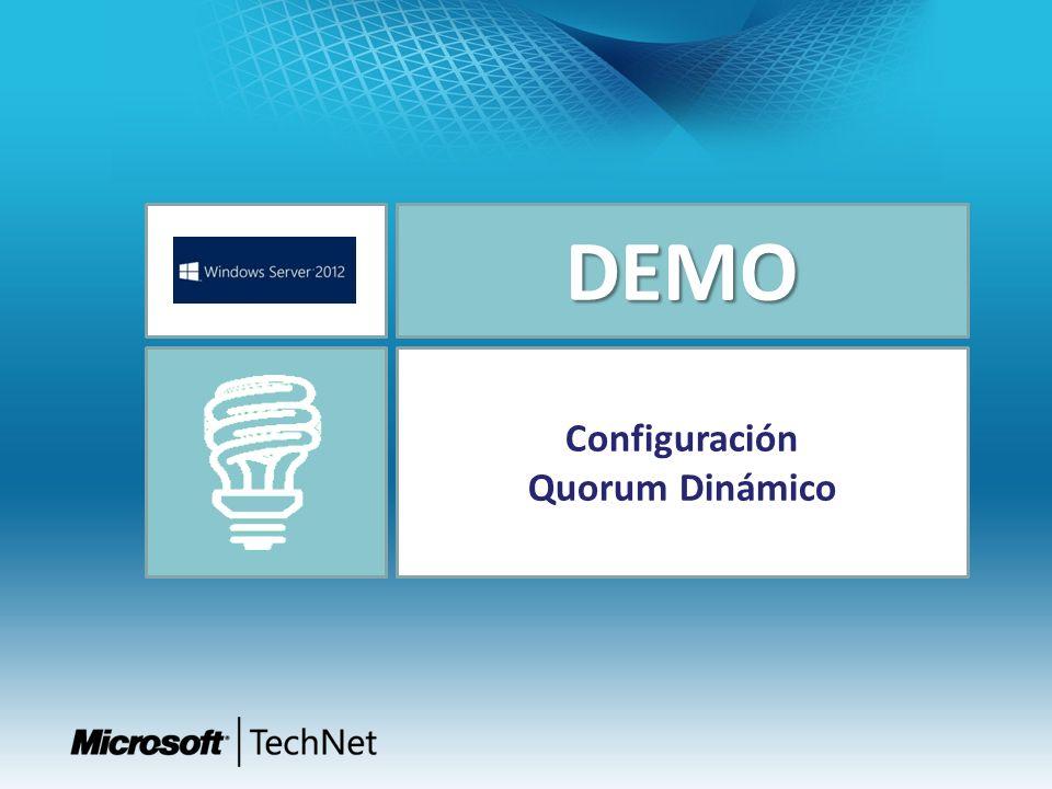 DEMO Configuración Quorum Dinámico