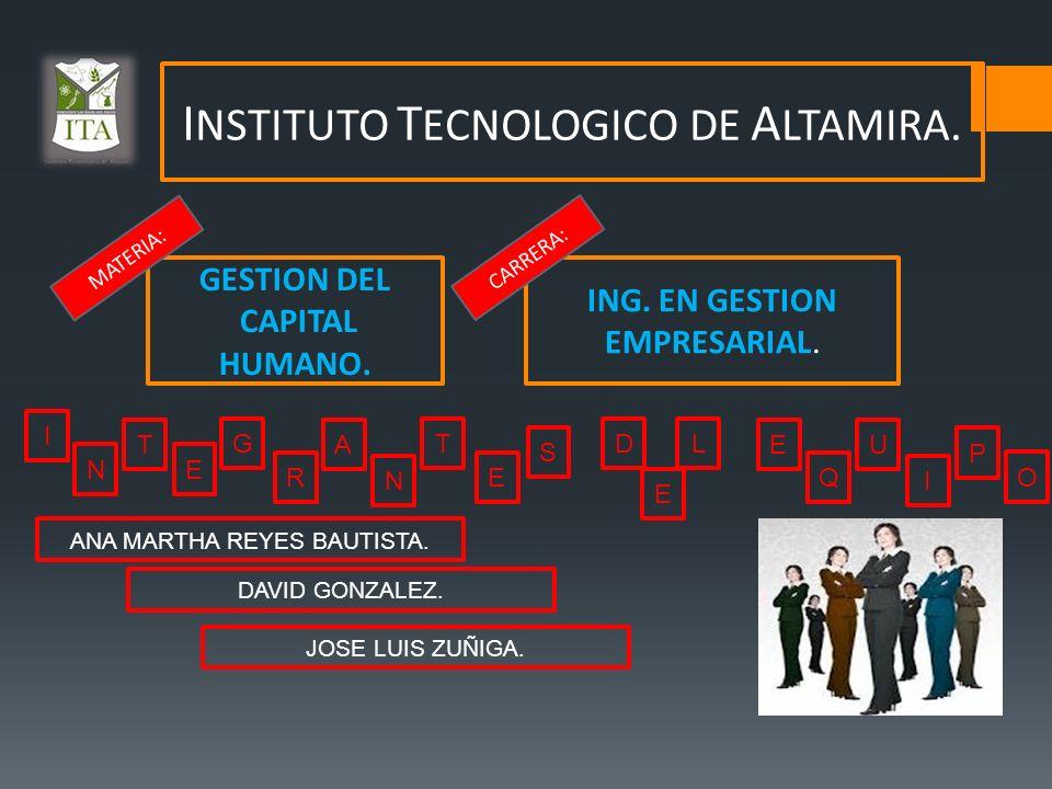 INSTITUTO TECNOLOGICO DE ALTAMIRA.