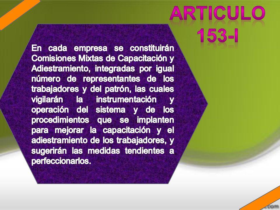 ARTICULO 153-I