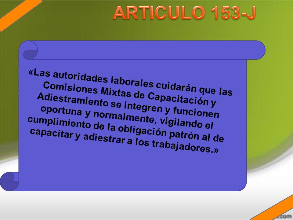 ARTICULO 153-J