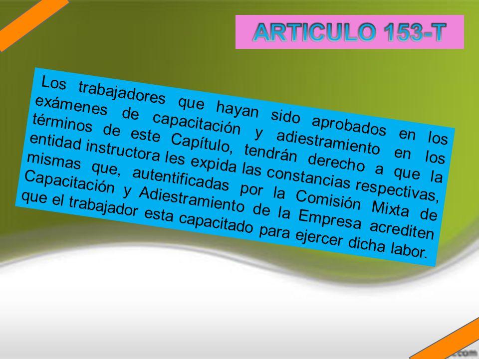 ARTICULO 153-T