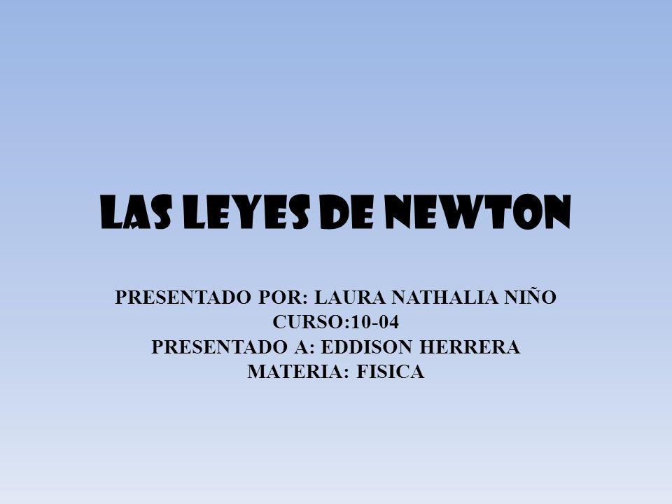 PRESENTADO POR: LAURA NATHALIA NIÑO PRESENTADO A: EDDISON HERRERA