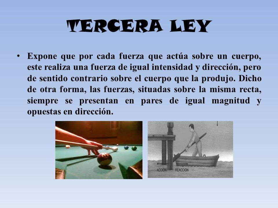 TERCERA LEY