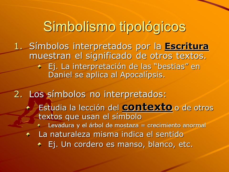 Simbolismo tipológicos