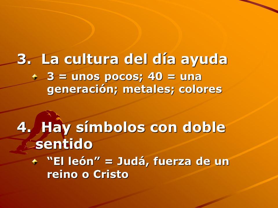 3. La cultura del día ayuda