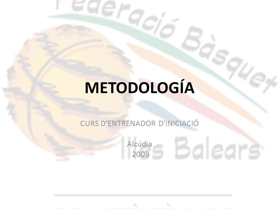 CURS D ENTRENADOR D INICIACIÓ Alcúdia 2009